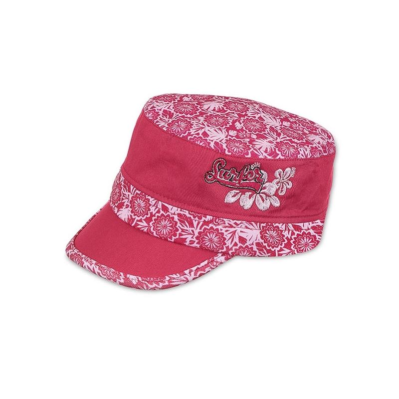 Casquette Mao Fleur Rose 49 Lolifant