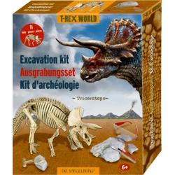 Kit d'archéologie Triceratops