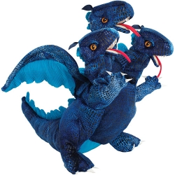 Marionnette dragon beu