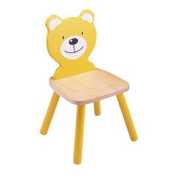 Chaise ours jaune