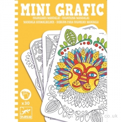 Mini grafic - Coloriages mandalas