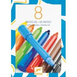 Pastels gel classique 8 couleurs