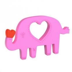 Hochet de dentiton éléphant