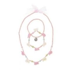 Collier & bracelets Anniko rose