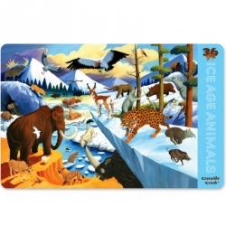 Set de table Animaux de l'ère glacière