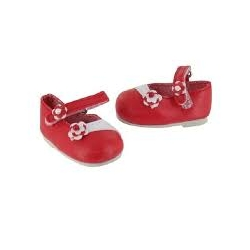 Chaussures Amigas rouge