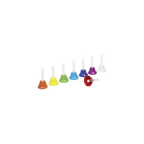 Assortiment de 8 cloches