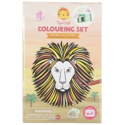 Colouring set Animaux - Tiger Tribe