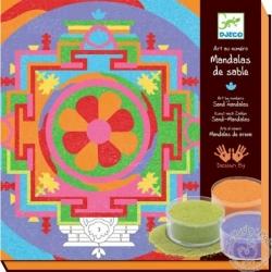 Sable coloré - Mandalas tibétains