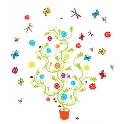stickers arbre magique