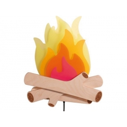 PROMO - 50% Applique murale feu de camp