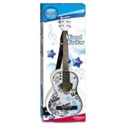 PROMO- 30% Guitare en bois 85 cm  (2 coloris)