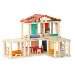 PROMO - 30 % maison de poupees plan toys