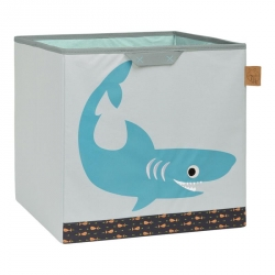 PROMO -10% Cube de rangement requin