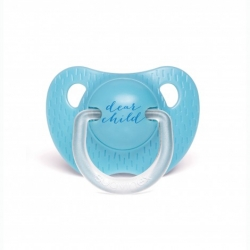 Tétine silicone 6/18 mois blue child