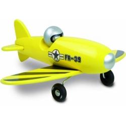 Avion voltige jaune