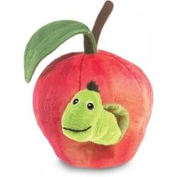 Marionnette Pomme avec ver
