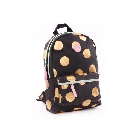 Petit sac à dos Milky Kiss à pois dorés