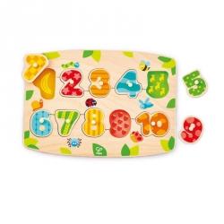 Puzzle à encastrement - Les chiffres