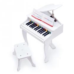 Grand piano deluxe blanc