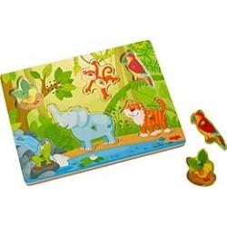 Puzzle sonore - Jungle