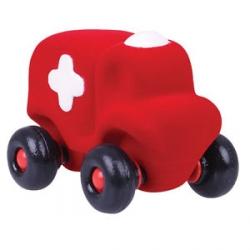 Petit ambulance rouge