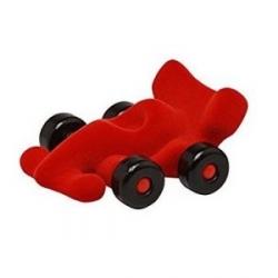 Petit voiture de course rouge
