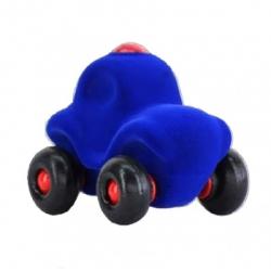 Petit voiture de police bleue