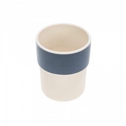 Tasse en bambou Glama Lama bleu