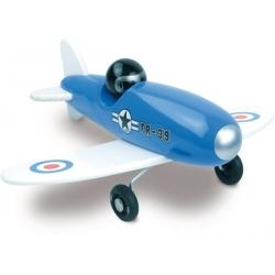 Avion voltige bleu