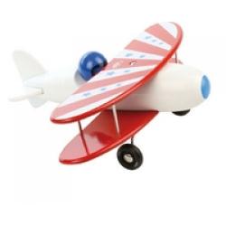 Avion b-plan blanc