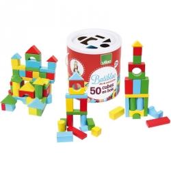 Batibloc - 50 cubes en bois