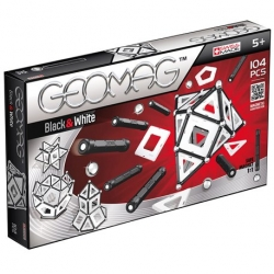 Geomag Black&White 104 pieces