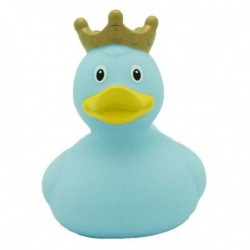 Canard bleu avec couronne Lilalu