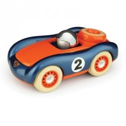Voiture Viglietta orange et bleu
