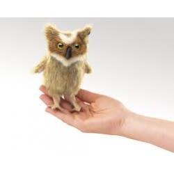 Marionnette à doigt hibou