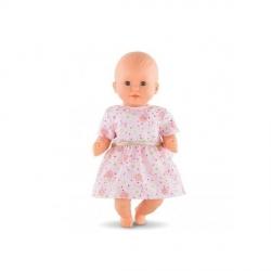 Vêtement robe à fleurs Bébé 30cm