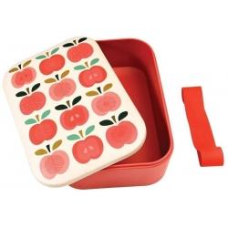Boîte à tartines rétro Pommes