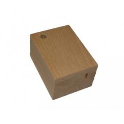 Boîte à musique manivelle - coffret bois