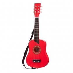 Guitare de luxe rouge