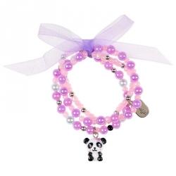 Bracelet panda Vera rose