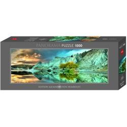 Puzzle 1000p Panorama lac bleu