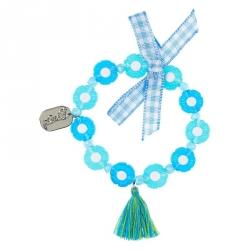Bracelet Flo bleu