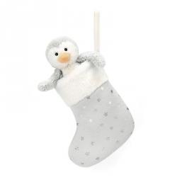 Chaussette avec pingouin