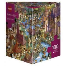 Puzzle 1000p - Bunnytown