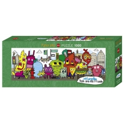 Puzzle 1000p - In the city