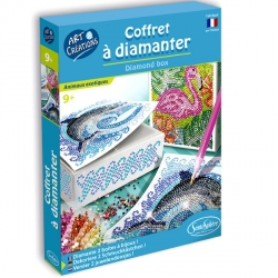 Coffret à diamanter - Animaux