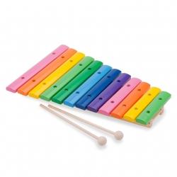 Xylophone bois coloré 12 tons