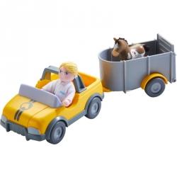 Little Friends - Voiture de vétérinaire avec remorque