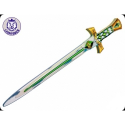 Épée de chevalier - émeraude